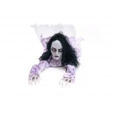 EUROPALMS Halloween Figur Crawling Girl, 150cm
