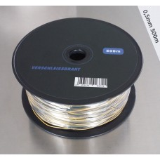 Pyrokabel 500m 2x0,5mm Verschleissdraht