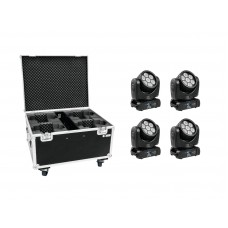 EUROLITE Set 4x LED TMH-15 + Case