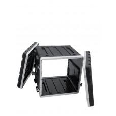 ROADINGER Kunststoff-Rack KR-19, 10HE, DD, schwarz